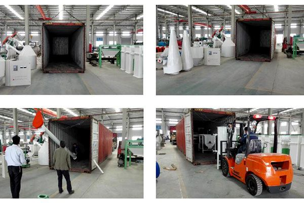 a whole animal feed pellet line 2t/h be shipped to Cape Verde