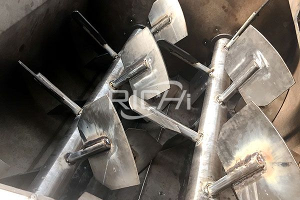Stainless Steel Feed Mixer1