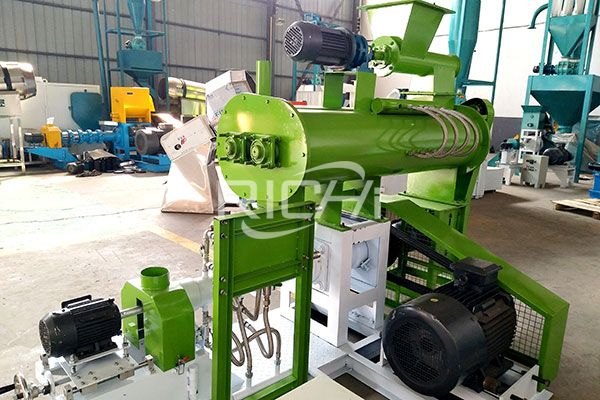 Wet Type Fish Feed Extruder2