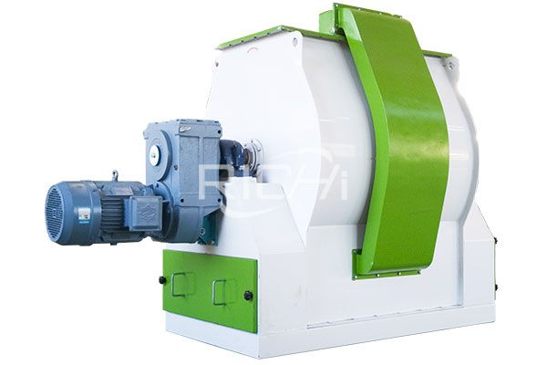 Single Roller Double Paddle Mixer