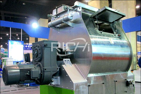 Stainless Steel Feed Mixer2