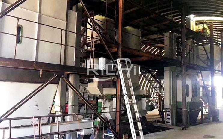 Canada 2-3T/H Full Automatic Biomass Wood Pellet Line