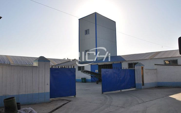 Algeria Two Sets 3-5T/H Feed Pellet Lines