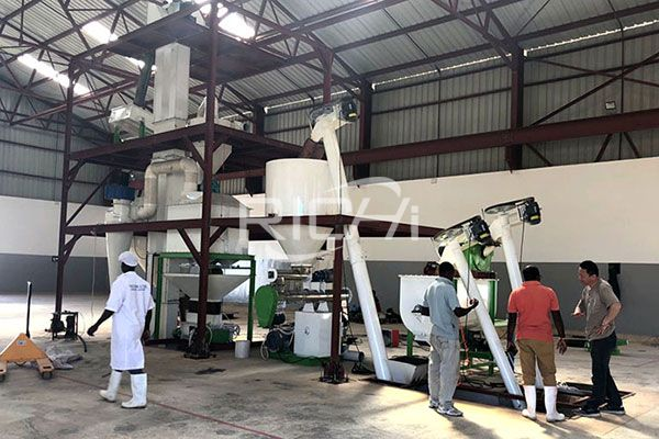 Livestock Feed Pellet Production Line