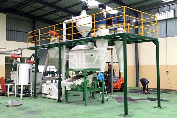 Animal Feed Pellet Production Line