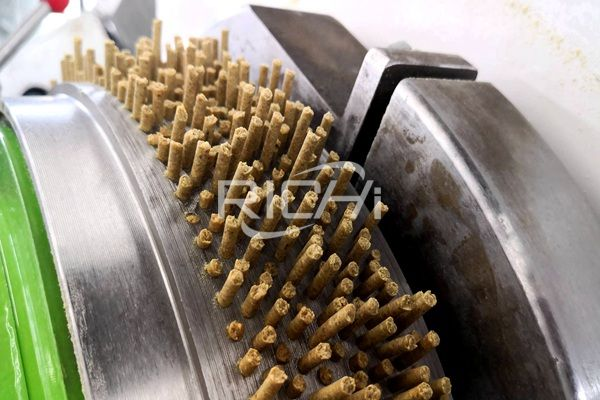 What size is the Pellet Machine model