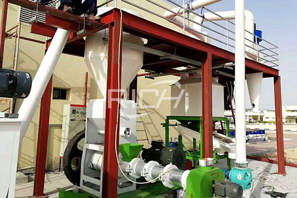 Fish Shrimp Feed Pellet Production Line