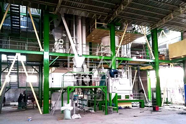 Ruminant Feed Pellet Production Line