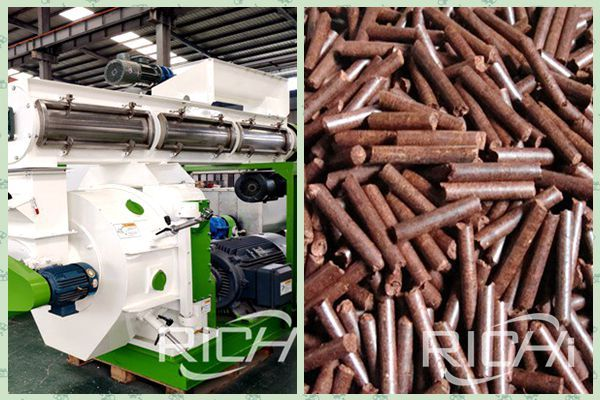 biomass pellet machine with a daily output of 50 tons