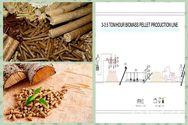 Factory Sale Biomass Fuel Wood Pellet Production Line