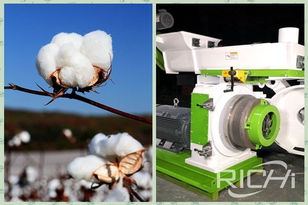 Cotton straw pellet machine for sale