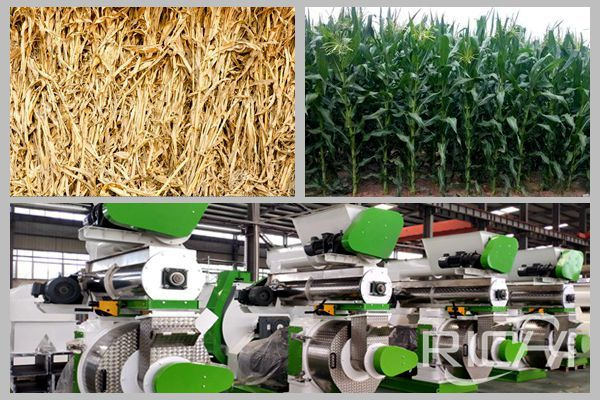 How much is a corn straw feed pellet machine