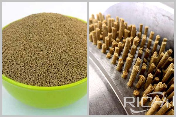 Pellet feed vs. powder feed