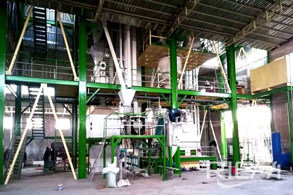 15-18Ton/Hour feed pellet production line case