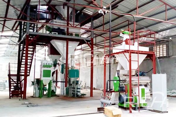 Tanzania animal feed production line project site2