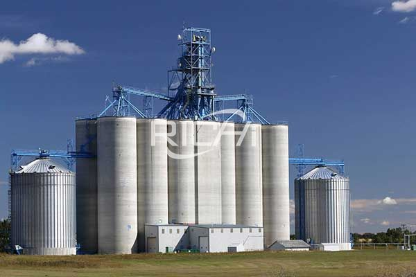 Large capacity steel silo1