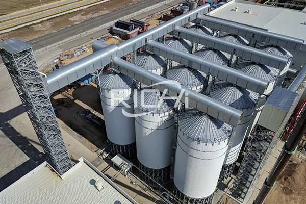 Large capacity steel silo2