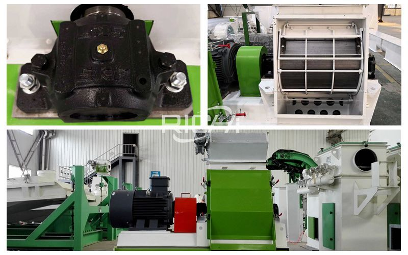 Application Of Feed Hammer Mill In The Feed Pellet Production Line