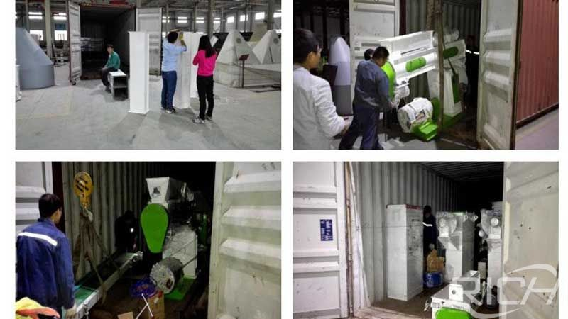 Uzbekistan feed pellet plant turnkey project delivery site
