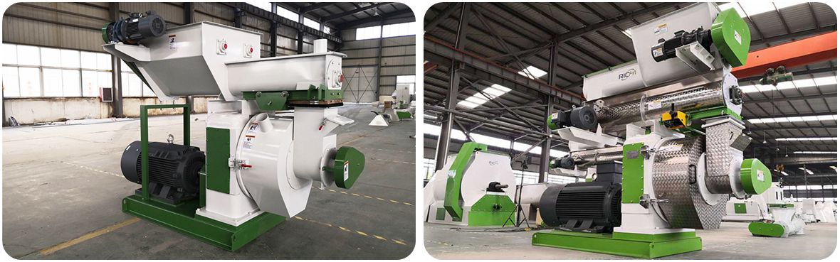 Difference Between Biomass Pelletizer and Feed Pelletizer
