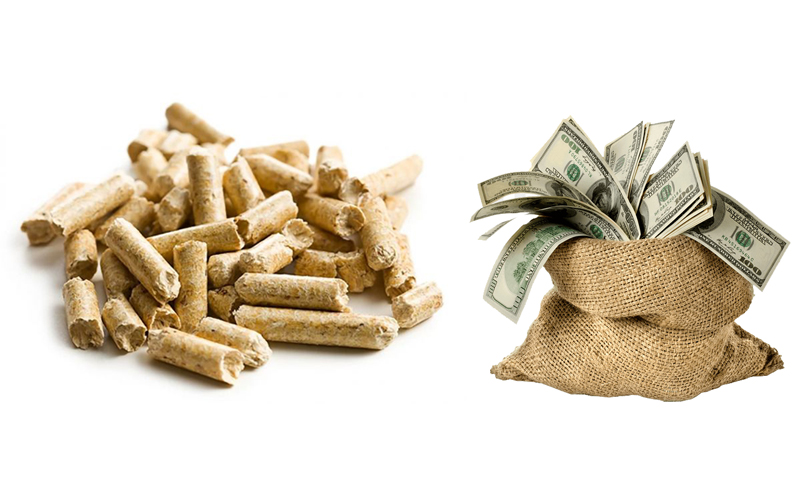 Selling Price of the Biomass Pellet