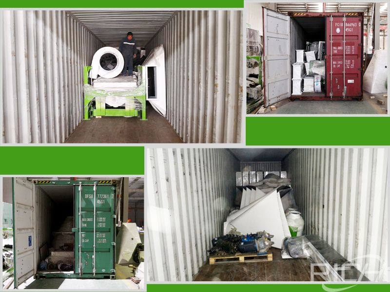 10T/H feed pellet production line is ready to delivery to Afghanistan