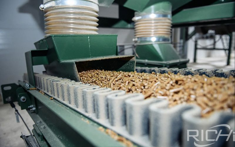 Price Of Complete 1-1.5 T/h Wood Pellet Production Line In Italy