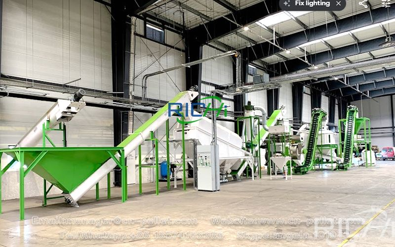 Chicken Feed Pellet Production Line