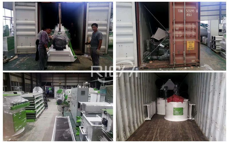 10t/h Wood Pellet Production Line Equipment Sent To The United States