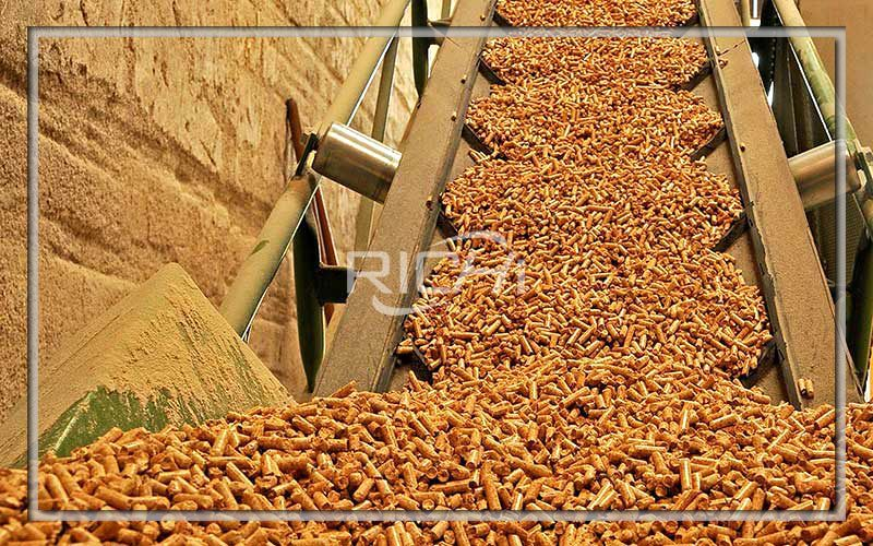 5 Tons/hour Biomass Pellet Machine and Production Line Project