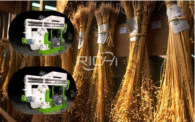 Biomass Pellet Machine-the Correct Utilization Method Of Flax Straw