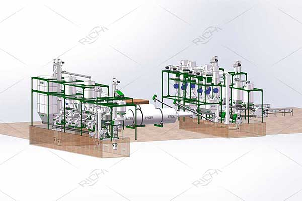 Sawdust Pellet Production Line