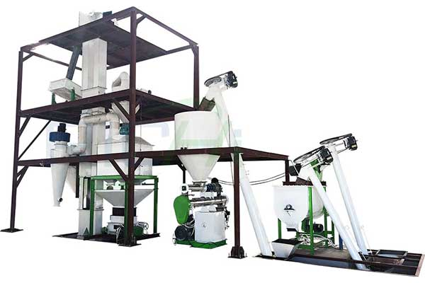 Cattle Feed Pellet Production Line
