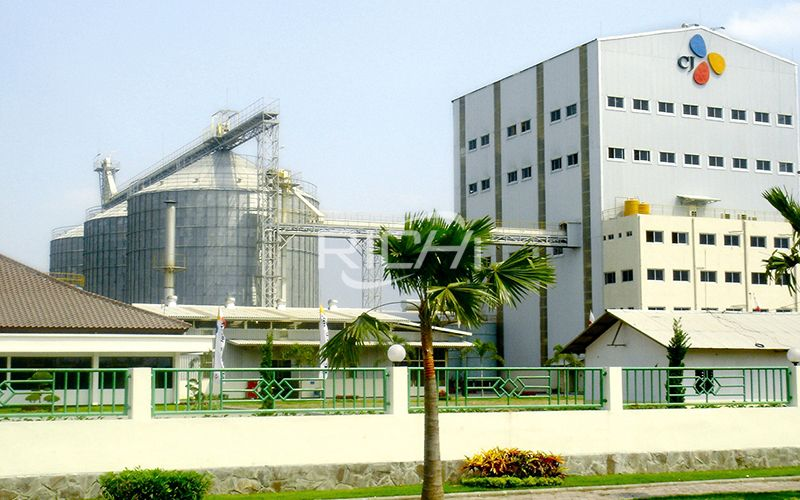 200,000 Tons/year Livestock Poultry Feed Line & 100,000 Tons/year Pig Feed Pellet Production Line Project