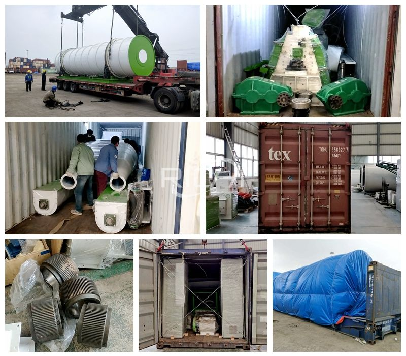 Delivery site of feed machinery and wood pellet machinery and equipment