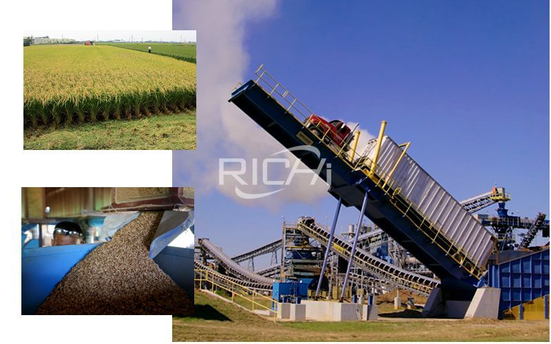 Large-scale Rice Husk Production Line Project