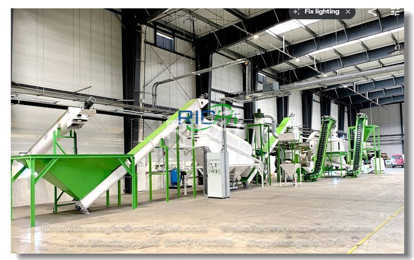 How to Invest in a 2 T/H Biomass Pellet Production Line With the Least Amount of Money