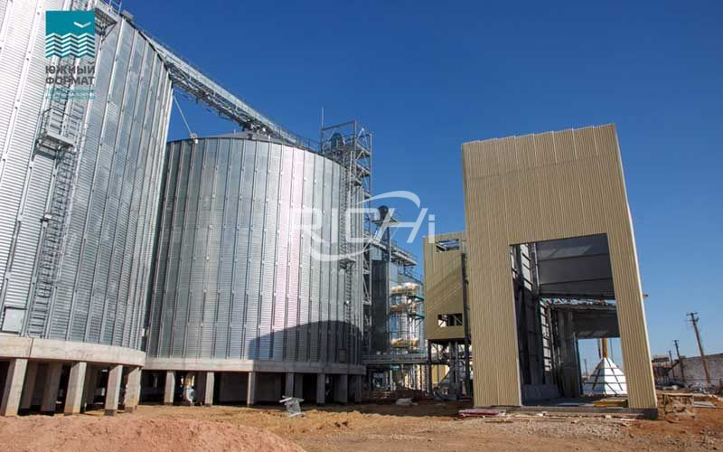Large-scale new feed pellet production line project