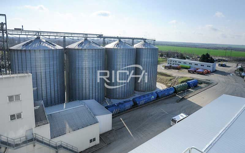Large-capacity horse feed pellet production line project