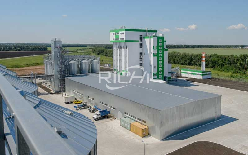Large-volume ruminant feed pellet production line project