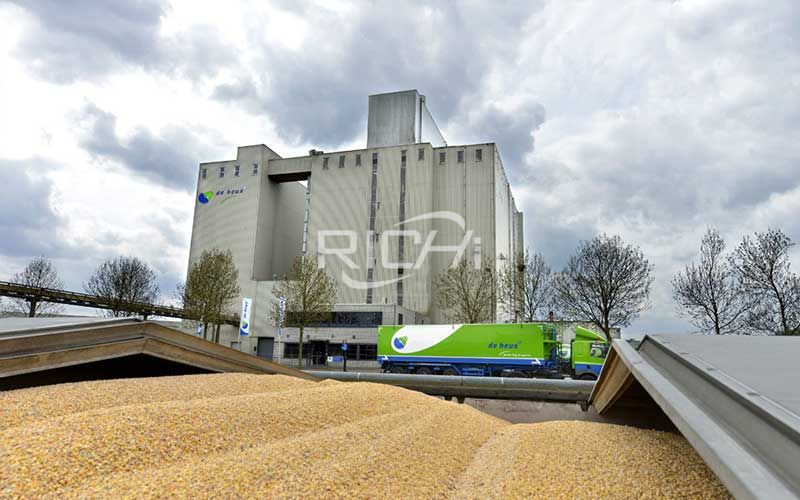 Large-volume cattle feed pellet production line project
