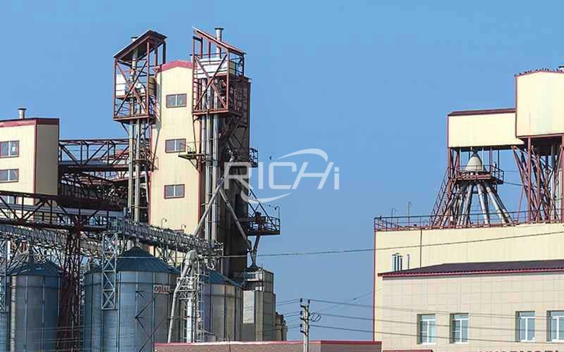 Large output poultry feed pellet production line project