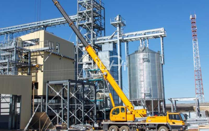 Large-volume livestock feed pellet production line project