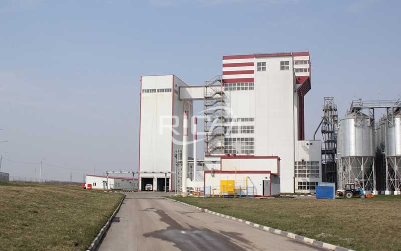 Large-volume feed pellet production project