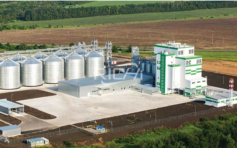 Turnkey project of large feed pellet plant