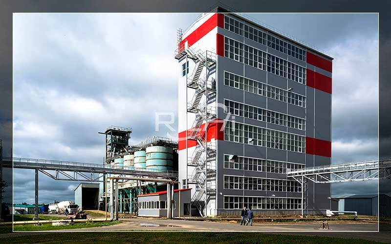 Production Line Project of a Poultry and Livestock Animal Feed Powder Factory With a Daily Output of 1,000 Tons