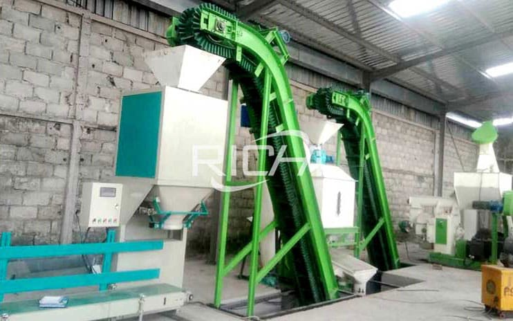 Brazil 1-2 T/H Best Price High Efficiency Biomass Wood Pellet Production Plant Line