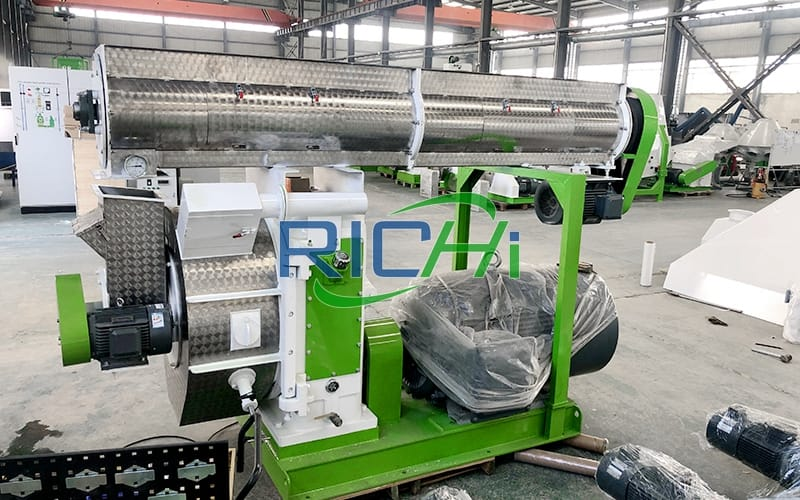How to make straw pellets by straw pellet machine?