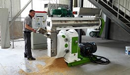 feed pellet making machine testing